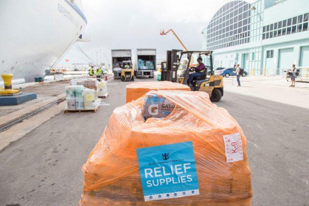 Adventure of the Seas Hurricane Relief