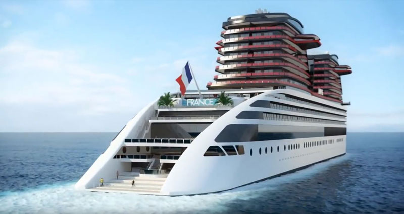 SS France 2 Rendering