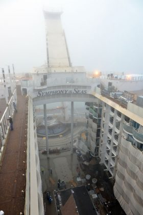 Symphony of the Seas October Fitting Out
