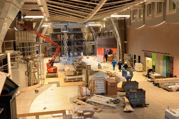Symphony of the Seas October Fitting Out Phase