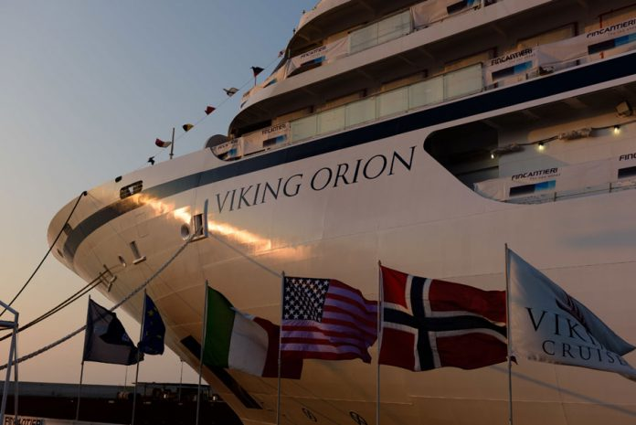 Viking Orion Float Out