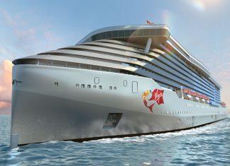Virgin Voyages Cruise Ship Rendering