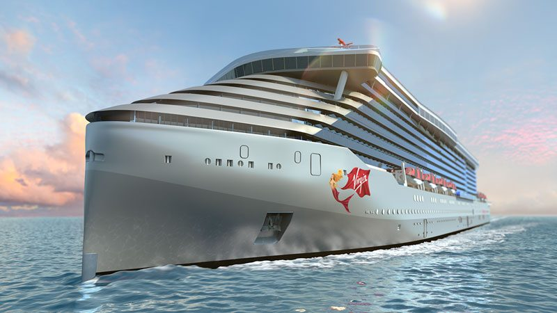 Virgin Voyages Cruise Ship Rendering