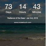 Cruisetouch, Cruise Countdown