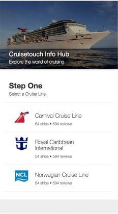 Cruisetouch, Info Hub