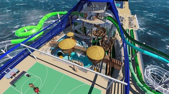 MSC Seaside Rendering