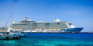 Oasis-class Royal Caribbean Cruise Ship