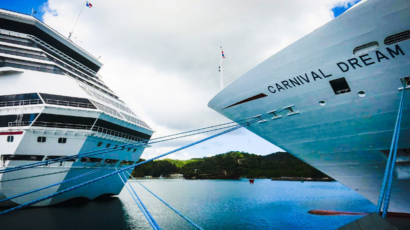 Carnival Cruise Line Makes Fuel Agreement For Future LNG Ship - Cruise ship fuel