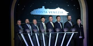 Costa Venezia Coin Ceremony