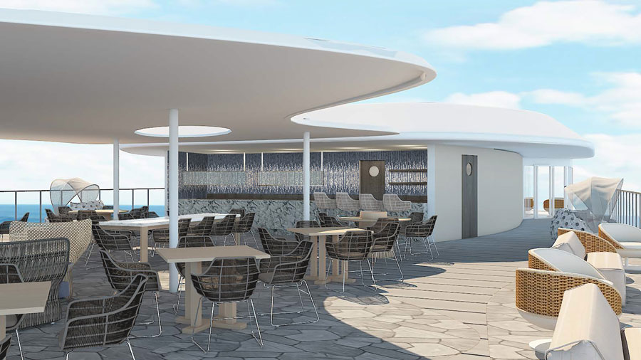 Celebrity Flora Rendering Cruise Hive
