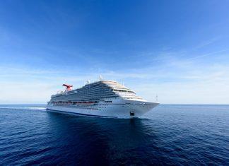 Carnival Horizon During Sea Trials
