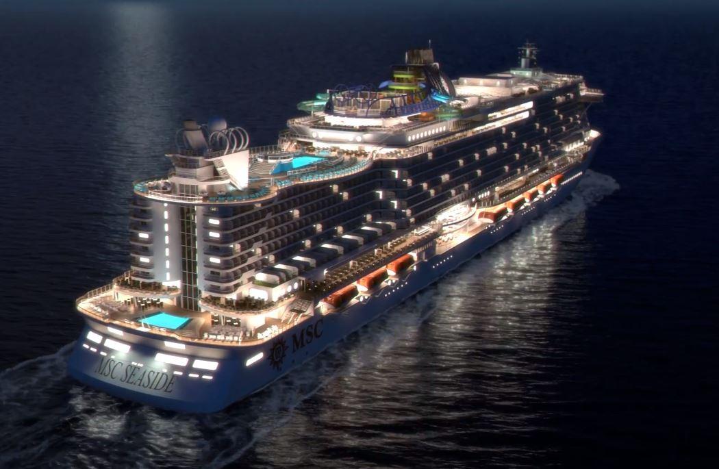 MSC Seaside Virtual Tour Rendering