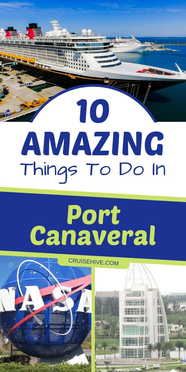 Amazing things to do in Port Canaveral, a popular cruise port in Florida. These cruise tips will help you out when taking a cruise vacation from there.