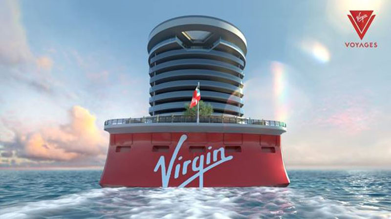Virgin Voyages Cruise Ship Rendering Aft