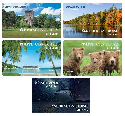 Princess Cruises Gift Cards