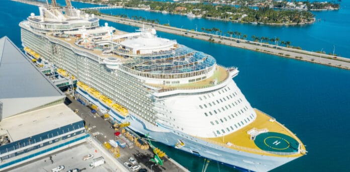 Royal Caribbean's Allure of the Seas Cruise Ship