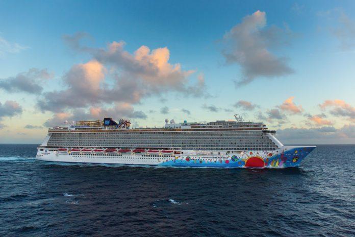 Norwegian Breakaway at Sea
