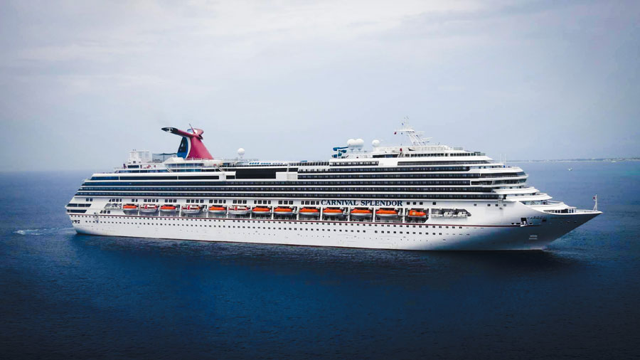 Carnival Splendor in Grand Cayman