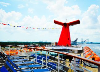 Carnival Elation in Jacksonville Port (JAXPORT)