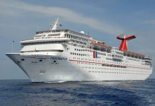 Carnival Fascination at Sea