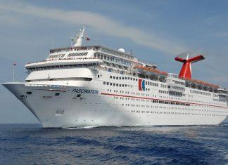 Carnival Fascination at Sea