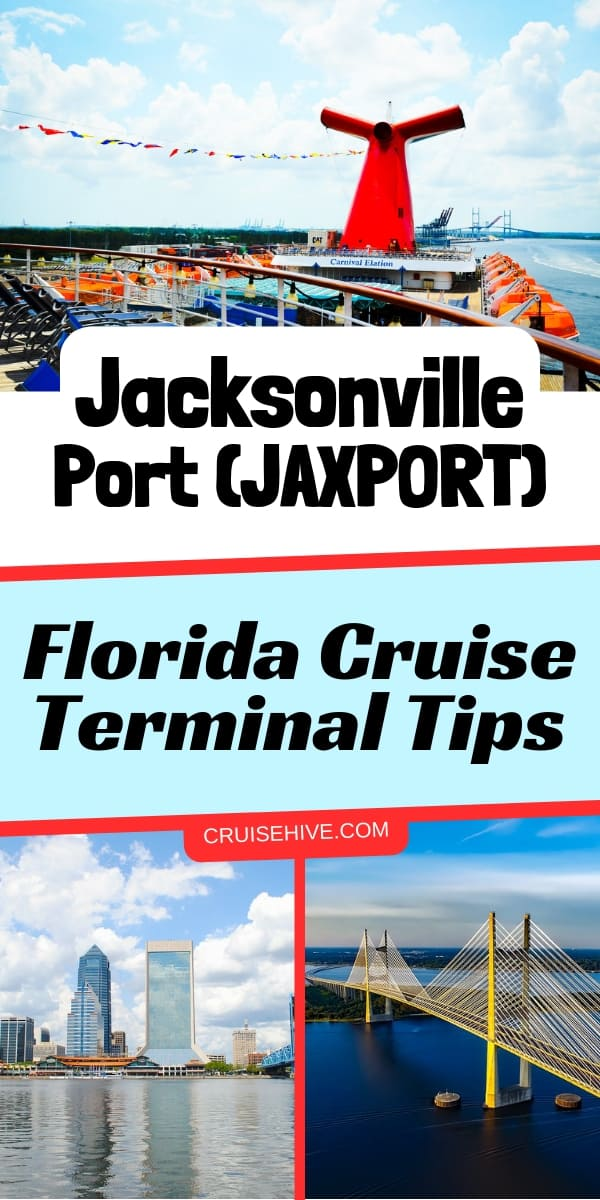 Cruise tips for those traveling out of Jacksonville Port, Florida. Guide on the terminal and how to get there.
