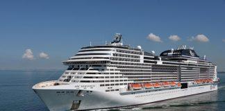 MSC Meraviglia At Sea