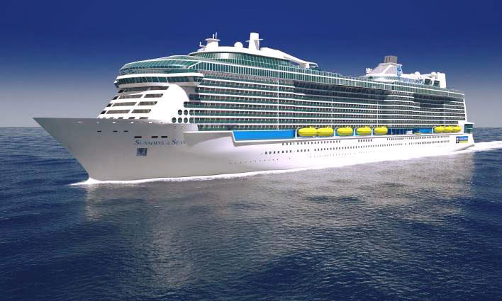 Quantum Ultra Class Royal Caribbean Cruise Ship