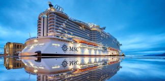 MSC Seaside in Port