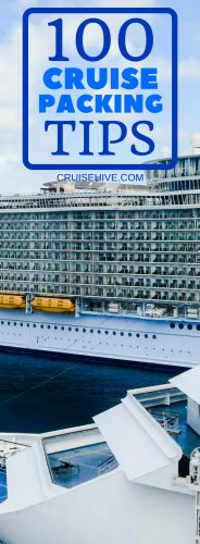 100 Things You Can Pack For A Cruise