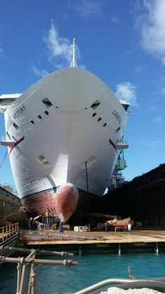 Carnival Victory Jan Dry Dock