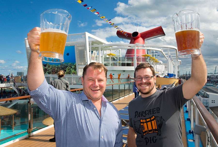 Carnival Horizon Craft Beer