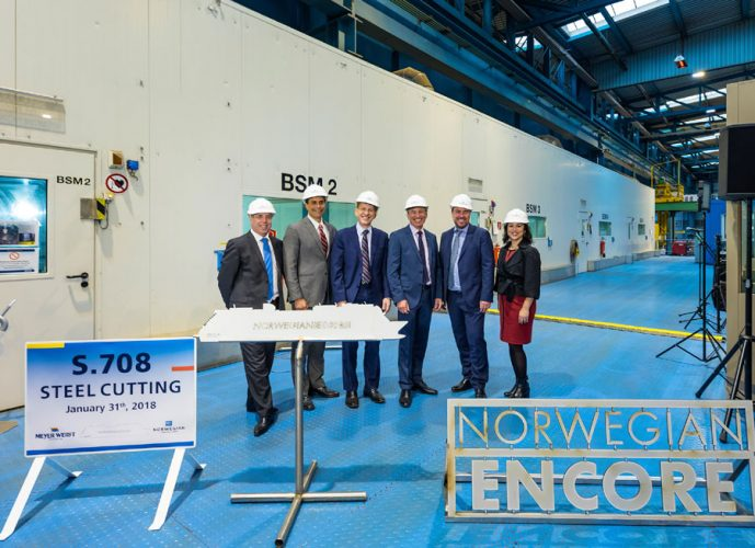Steel Cutting Norwegian Encore