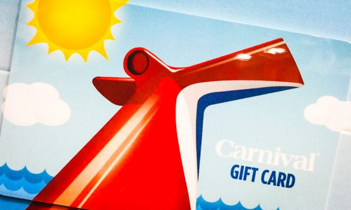 Carnival Cruise Line Gift Cards