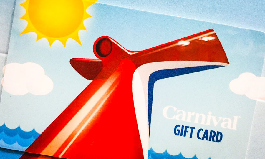 carnival cruise gift card how to use carnival cruise line gift cards 2625