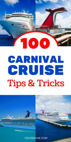 We've put together all kinds of cruise and travel tips for your cruise vacation with Carnival Cruise Line.