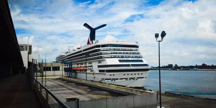 Carnival Triumph in Port