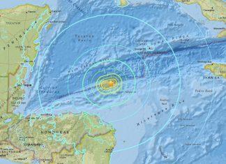 Western Caribbean Earthquake