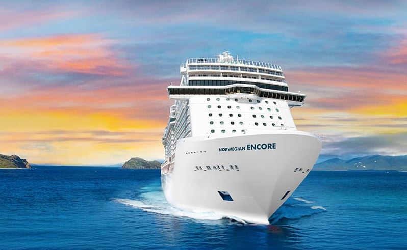 Norwegian Encore Rendering