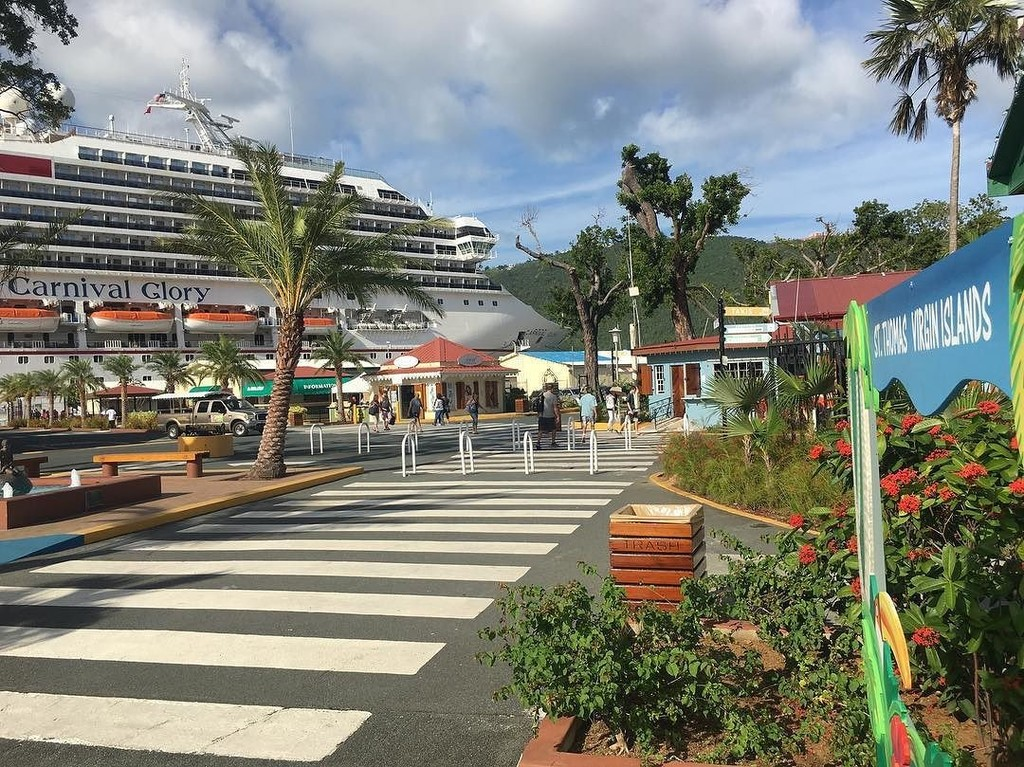 Carnival Glory in St. Thomas