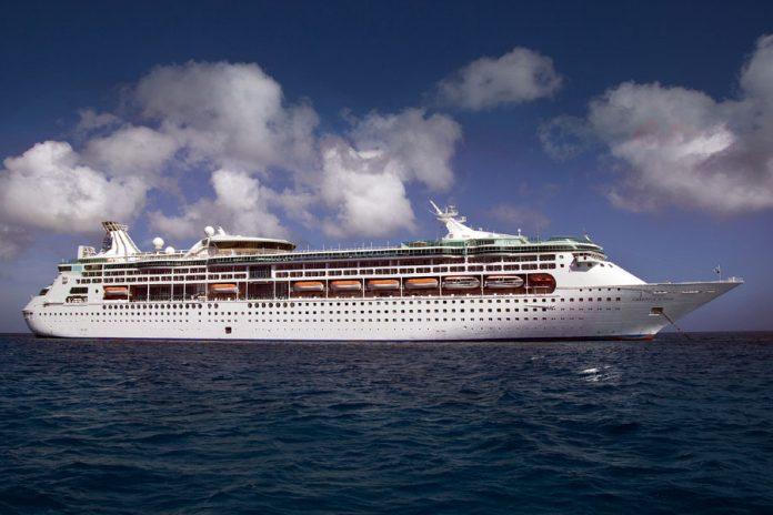 Grandeur of the Seas at Sea