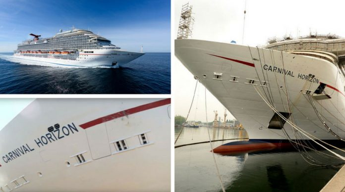 Carnival Horizon in Final Stages