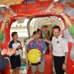 Millionth Royal Caribbean Guest from Singapore