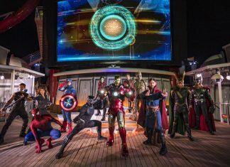 Disney Marvel Day at Sea
