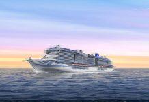 New Generation P&O LNG Cruise Ship