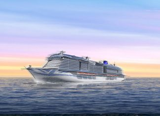 New Generation P&O LNG Cruise Ship