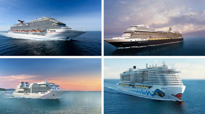 New Carnival Corp Cruise Ships