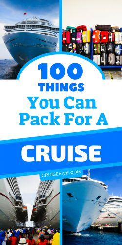 If you have plans on traveling on a cruise ship then here are 100 cruise tips for packing. With suggestions what to pack and items you should take.