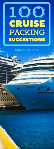 Preparing for your cruise vacation can be a tricky task, here is a packing list to help you out on what to pack for a cruise no matter if it's in the Caribbean or Alaska.