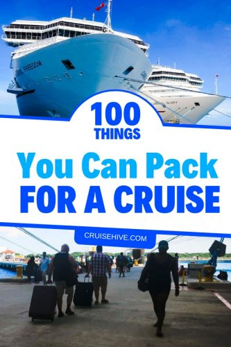 Read these 100 Carnival cruise tips and tricks before your next cruise vacation with the biggest cruise line in the world! Including packing tips, packages and ways to save money. #cruise #cruisetips #carnivalcruise #carnivalcruiselines #travel #traveltips #vacation #cruiseline #cruiseship #packingtips